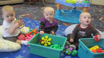 babies in child care