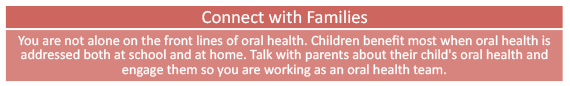 tip 3 - connect with families